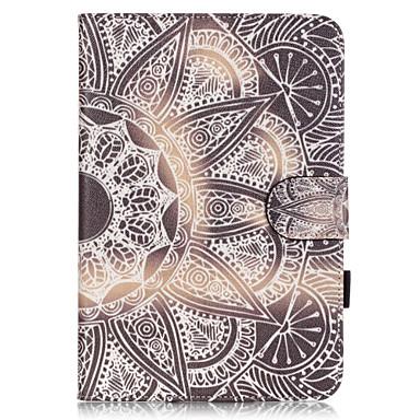 Case Kompatibilitás Apple iPad Mini 4 Kártyatartó Állvánnyal Minta Héjtok Más Puha PU bőr mert iPad Mini 4 Apple