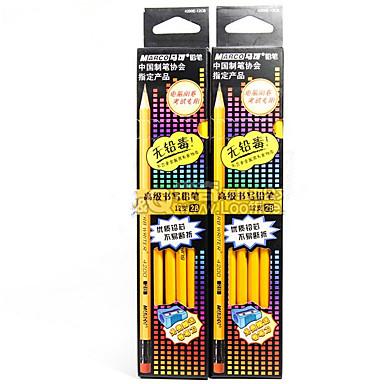 Ceruza Toll Színes ceruzák Toll,Fa Hordó Fekete Ink Colors For Iskolai felszerelés Irodaszerek Csomag