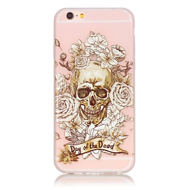 Mert iPhone 6 tok / iPhone 6 Plus tok Foszforeszkáló Case Hátlap Case Csempe Puha TPU AppleiPhone 7 Plus / iPhone 7 / iPhone 6s Plus/6