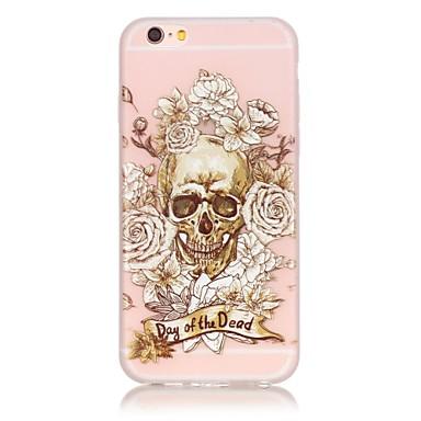 케이스 제품 Apple iPhone 6 iPhone 6 Plus 야광 뒷면 커버 해골 소프트 TPU 용 iPhone 6s Plus iPhone 6s iPhone 6 Plus iPhone 6 iPhone SE/5s iPhone 5