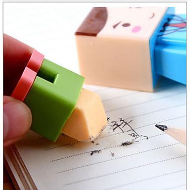 Hibajavítók Toll Radírok Toll,Műanyag Hordó Piros Ink Colors For Iskolai felszerelés Irodaszerek Csomag