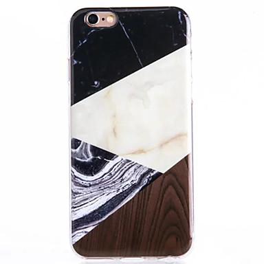 용 아이폰6케이스 / 아이폰6플러스 케이스 Other 케이스 뒷면 커버 케이스 마블 소프트 TPU Apple iPhone 6s Plus/6 Plus / iPhone 6s/6 / iPhone SE/5s/5