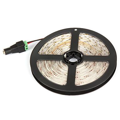 5 MB Giętkie taśmy świetlne LED 300 Diody LED Biały Zielony Żółty Niebieski Czerwony Wodoodporne Samoprzylepne 12V