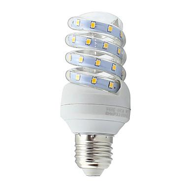 7W E26/E27 LED 콘 조명 튜브 40 SMD 2835 600 lm 따뜻한 화이트 / 차가운 화이트 장식 AC 85-265 V 1개