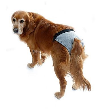 강아지 바지 강아지 의류 솔리드 블랙 그레이 로즈 면 코스츔 애완 동물 여름 남성용 여성용 캐쥬얼 / 데일리