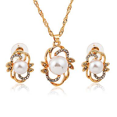 da23a551d790 cheap Jewelry Sets-Women  039 s Jewelry Set Imitation Pearl