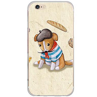 Mert iPhone 6 tok iPhone 6 Plus tok tokok Minta Hátlap Case Kutya Kemény PC mert AppleiPhone 6s Plus iPhone 6 Plus iPhone 6s iPhone 6