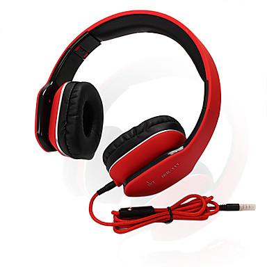 JKR JKR-111 Fejhallgatók (fejpánt)ForMédialejátszó/tablet / Mobiltelefon / SzámítógépWithMikrofonnal / DJ / Hangerő szabályozás / Játszás