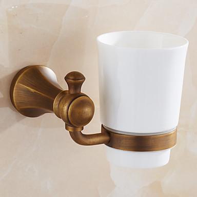 Fogkefetartó Fürdőszobai kütyü / Antik bronz Antik