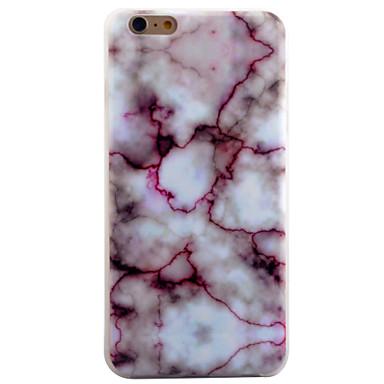 용 아이폰6케이스 / 아이폰6플러스 케이스 패턴 케이스 뒷면 커버 케이스 마블 소프트 TPU Apple iPhone 6s Plus/6 Plus / iPhone 6s/6 / iPhone SE/5s/5