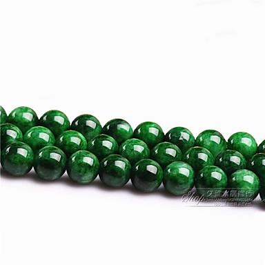 팔찌를위한 DIY 쥬얼리 녹색 유리 공의 매력 4mm 98pcs