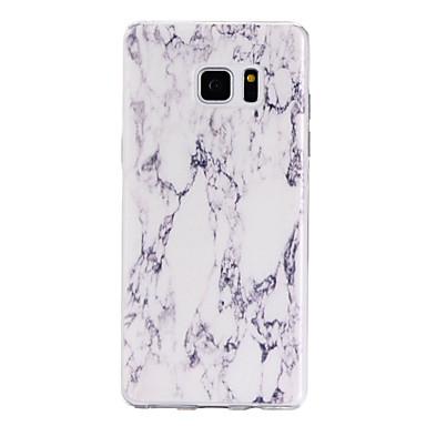 용 Samsung Galaxy Note7 케이스 커버 투명 패턴 뒷면 커버 케이스 마블 소프트 TPU 용 Samsung Note 7