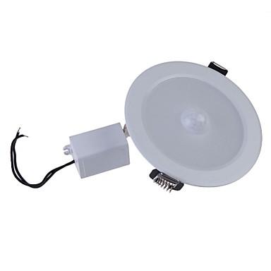 4-pin Okos LED izzók Süllyesztett 1 led Nagyteljesítményű LED Érzékelő Infravörös érzékelő Meleg fehér Hideg fehér 300-500lm 2000-6500K