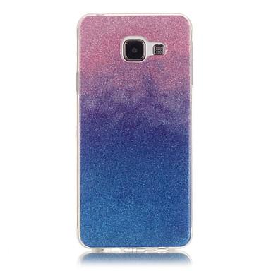 voordelige Galaxy A-serie hoesjes / covers-hoesje Voor Samsung Galaxy A5(2016) / A3(2016) Achterkant Kleurgradatie Zacht TPU