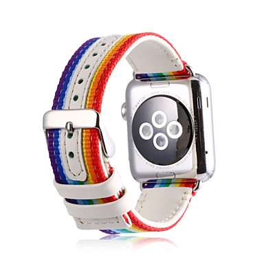 Watch Band na Apple Watch Series 3 / 2 / 1 Apple Klasyczna klamra Nylon Opaska na nadgarstek