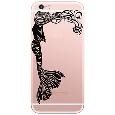 Mert iPhone 6 tok / iPhone 6 Plus tok Minta Case Hátlap Case Szexi lány Kemény PC AppleiPhone 6s Plus/6 Plus / iPhone 6s/6 / iPhone