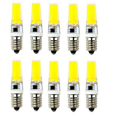 2.5W E14 G9 LED Bi-pin 조명 T 1 LED가 COB 장식 따뜻한 화이트 차가운 화이트 250-300lm 2900-3200/6000-7500K AC 220-240V
