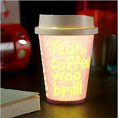 1db véletlenszerű szín kreatív pub KTV környezeti dixie csésze LED lámpa éjszakai fény led drinkware