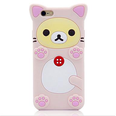 용 충격방지 케이스 풀 바디 케이스 동물 소프트 실리콘 Apple iPhone 6s Plus/6 Plus / iPhone 6s/6 / iPhone SE/5s/5