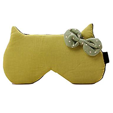 한 판 패션 고양이 머리 bowknot 순수한 컬러 수축 (임의 배송)
