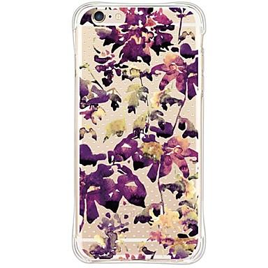 용 아이폰6케이스 / 아이폰6플러스 케이스 방수 / 충격방지 / 방진 / 투명 케이스 뒷면 커버 케이스 꽃장식 소프트 TPU Apple iPhone 6s Plus/6 Plus / iPhone 6s/6 / iPhone SE/5s/5