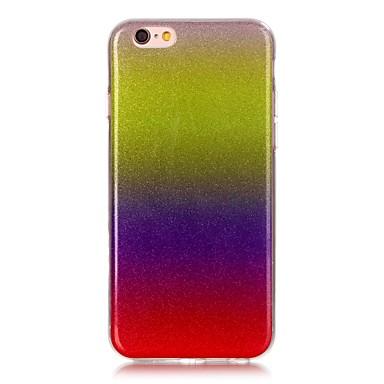 용 아이폰6케이스 / 아이폰6플러스 케이스 Other 케이스 뒷면 커버 케이스 컬러 그라데이션 소프트 TPU AppleiPhone 6s Plus/6 Plus / iPhone 6s/6 / iPhone SE/5s/5 / iPhone 5c /