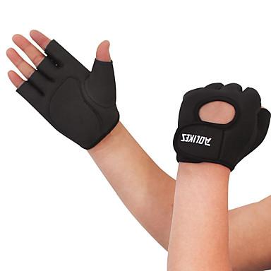Activiteit/Sport Handschoenen Fietshandschoenen Vochtdoorlaatbaarheid Ademend Slijtvast Schokbestendig Vermindert schuren Vingerloos Lycra