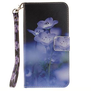 Case Kompatibilitás Samsung Galaxy Samsung Galaxy Note7 Kártyatartó Pénztárca Flip Minta Héjtok Virág Kemény PU bőr mert Note 7 Note 5