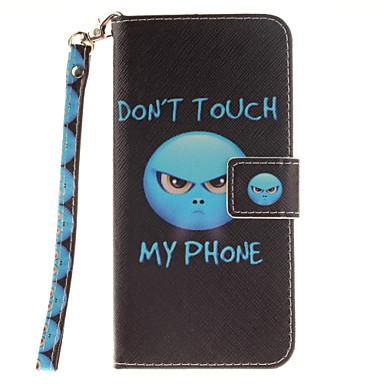 Case Kompatibilitás Samsung Galaxy Samsung Galaxy S7 Edge Kártyatartó Pénztárca Flip Minta Héjtok Szó / bölcselet Kemény PU bőr mert S7