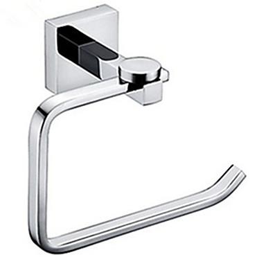 화장지 홀더 화장실 롤 홀더 욕실 액세서리 크롬 벽 마운트 현대 황동