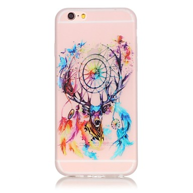 Mert iPhone 6 tok / iPhone 6 Plus tok Foszforeszkáló Case Hátlap Case Álomvadász Puha TPU AppleiPhone 6s Plus/6 Plus / iPhone 6s/6 /