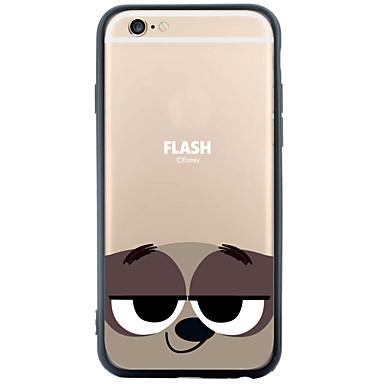 Mert iPhone 6 tok / iPhone 6 Plus tok Minta Case Hátlap Case Rajzfilmfigura Puha TPU AppleiPhone 6s Plus/6 Plus / iPhone 6s/6 / iPhone
