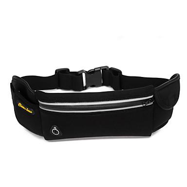 L Karpánt Belt Pouch Cell Phone Bag Csomag derékra mert Futás Sportska torba Vízálló Telefon/Iphone Bezár Body Többfunkciós Lopásgátló