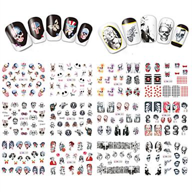Nail Art Nail Sticker Tipsy typu Full Nail / Biżuteria na paznokcie
