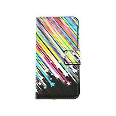 Mert LG tok Kártyatartó / Állvánnyal / Betekintő ablakkal / Flip / Minta Case Teljes védelem Case Vonalak / hullámok Kemény Műbőr LGLG