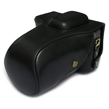 SLR-Canon-Táska-Félvállas-Fekete-Porbiztos