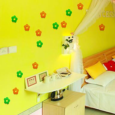 크리스마스 / 로맨스 / 판타지 벽 스티커 3D 월 스티커 데코레이티브 월 스티커 / 냉장고 스티커 / 웨딩 스티커,pvc 자료 이동가능 / 재부착가능 홈 장식 벽 데칼