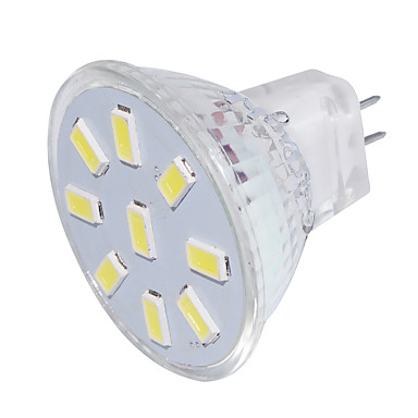 GU4(MR11) LED 스팟 조명 MR11 9 LED가 SMD 5733 장식 따뜻한 화이트 차가운 화이트 150lm 3000/6000K 9-30V
