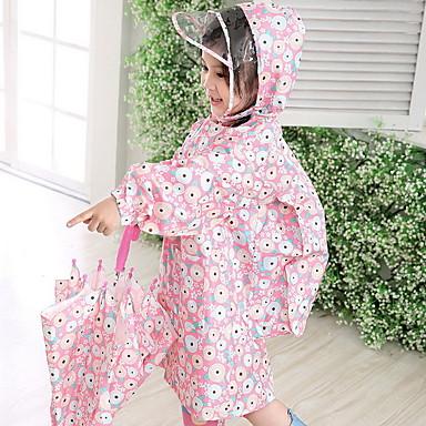 Fehér / Kék / Pink Esőkabát Esős Gumi gyerekek