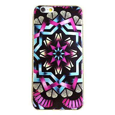 hoesje Voor iPhone 6 iPhone 6 Plus Patroon Achterkantje Geometrisch patroon Zacht TPU voor iPhone 6s Plus iPhone 6 Plus iPhone 6s iPhone 6