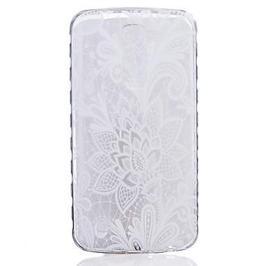 케이스 제품 LG G3 / LG의 K8 / LG 투명 / 패턴 뒷면 커버 꽃장식 소프트 TPU / LG G4 / LG K10