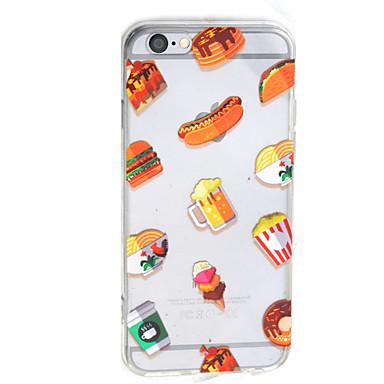 Mert iPhone 7 tok / iPhone 7 Plus tok / iPhone 6 tok Átlátszó / Minta Case Hátlap Case Gyümölcs Kemény Akril AppleiPhone 7 Plus / iPhone