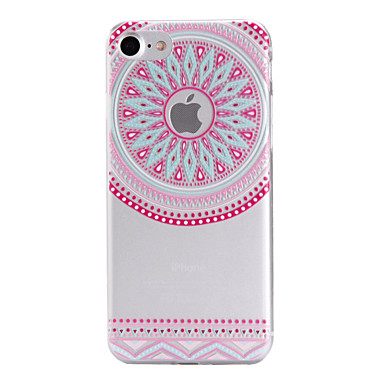 Mert iPhone 7 tok / iPhone 7 Plus tok / iPhone 6 tok Minta Case Hátlap Case Mértani formák Puha TPU AppleiPhone 7 Plus / iPhone 7 /