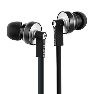 ARTISTE ARTISTE I1 Fülben Vezetékes Fejhallgatók Dinamikus Mobiltelefon Fülhallgató Zajszűrő Mikrofonnal HI-FI Fejhallgató