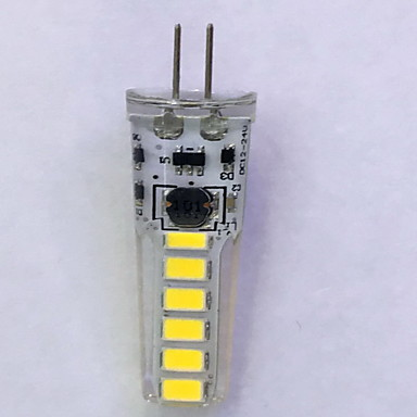 240 lm G4 LED betűzős izzók T 12LED led SMD 5730 Dekoratív Meleg fehér Hideg fehér AC 12V