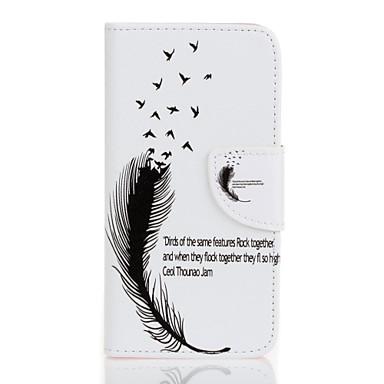 Mert Samsung Galaxy tok Kártyatartó / Pénztárca / Állvánnyal / Flip / Dombornyomott / Minta Case Teljes védelem Case Toll Kemény Műbőr