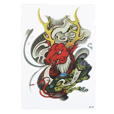 타투 스티커 애니멀 시리즈 Non Toxic 패턴 허리 아래 Waterproof여성 남성 어른 플래시 문신 임시 문신