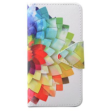 케이스 제품 Samsung Galaxy Samsung Galaxy S7 Edge 카드 홀더 지갑 스탠드 플립 마그네틱 패턴 엠보싱 텍스쳐 전체 바디 케이스 꽃장식 하드 PU 가죽 용 S7 edge S7