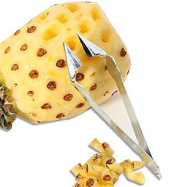 abordables Utensilios para frutas y verduras-Acero inoxidable Tong Novedades Utensilios de cocina herramientas de las frutas