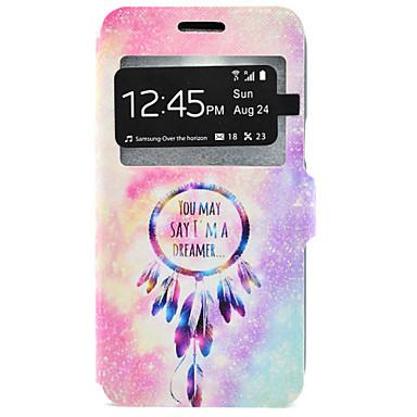 Mert Samsung Galaxy tok Kártyatartó / Állvánnyal Case Teljes védelem Case Álomvadász Kemény Műbőr Samsung J7 / J5 / J3 / J3 (2016)